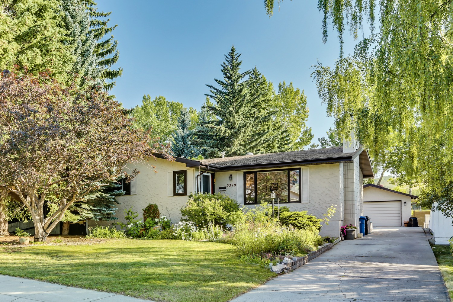 Just listed today in Brentwood, NW Calgary